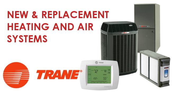 Above and Beyond New Trane HVAC Systems